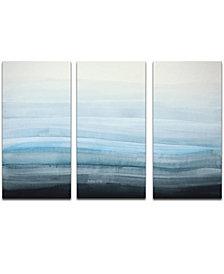 Ready2HangArt 'Coastal Mist' 3-Pc. Canvas Art Print Set