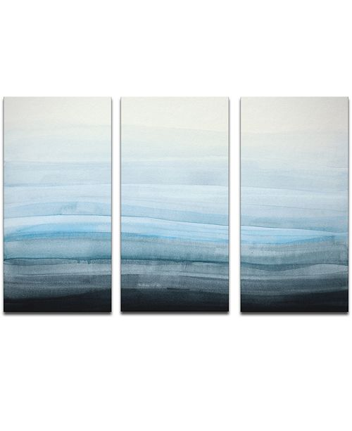 Ready2HangArt 'Coastal Mist' 3-Pc. Canvas Art Print Set