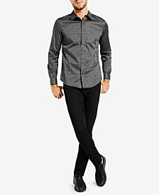 GUESS Men's Geometric-Print Shirt