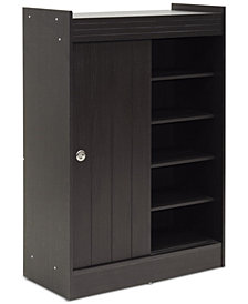 Pylenor Shoe Cabinet, Quick Ship