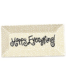 Happy Everything by Laura Johnson Collection Cobble Small Dot Happy Everything Scoop Tray