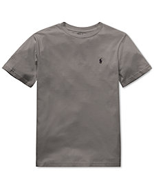 Polo Ralph Lauren Big Boys Cotton Jersey Crew-Neck T-Shirt