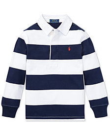 Polo Ralph Lauren Little Boys Striped Cotton Jersey Rugby Shirt