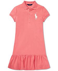 Polo Ralph Lauren Big Girls Short-Sleeve Big Pony Dress