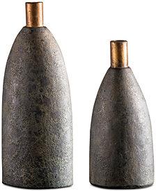 Uttermost Kasen Set of 2 Terracotta Vases