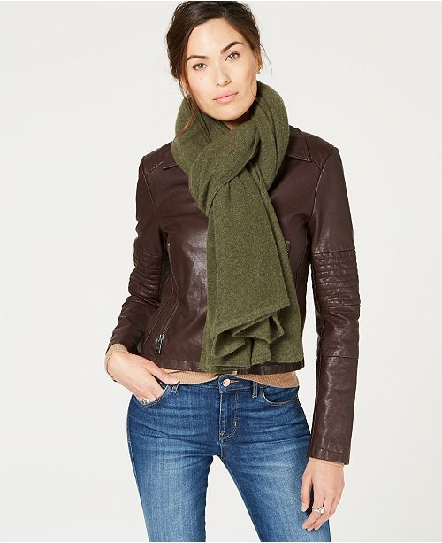 Pure Cashmere Oversized Scarf, Created for Macy's