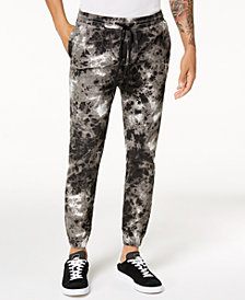 Jaywalker Men's Tie-Dyed Jogger Pants