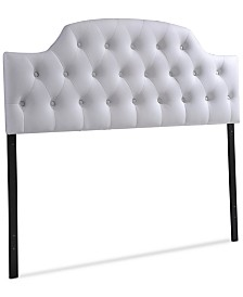 CLOSEOUT! Lerato Full Scalloped Headboard, Quick Ship
