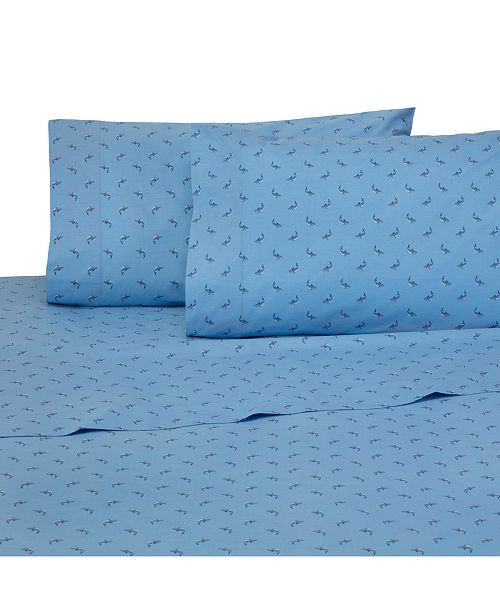Southern Tide 200 Thread Count Cotton Percale Printed Standard Pillowcase Pair