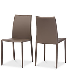 Mazia Dining Chair (Set of 2), Quick Ship