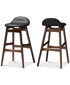 Thyia Bar Stool (Set of 2), Quick Ship