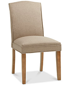 Camel Dining Chair (Set Of 2), Quick Ship