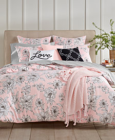 Charter Club Damask Designs Floral 3-Pc. Full/Queen Duvet Set, Created for Macy's