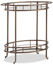 Caliborne Bar Cart, Quick Ship
