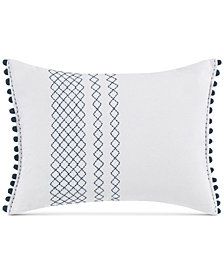 ED Ellen Degeneres Hanako Diamond Stitched Knot Throw Decorative Pillow
