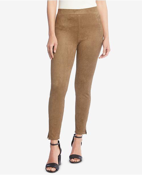 Pantalon Kane daim a synthetiqueCommentaires Women Earth en enfiler Capris Karen skinny QdChrts