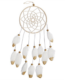Holiday Lane Feather Dream Catcher Christmas Ornament, Created for Macy's