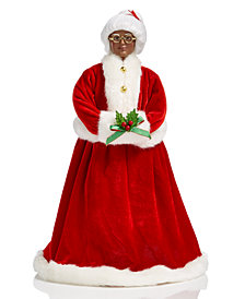 Holiday Lane Standing African American Mrs. Claus, Created for Macy's