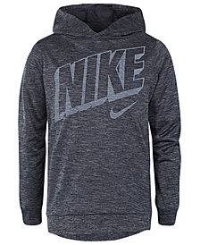 Nike Toddler Boys Dri-FIT Hooded Graphic-Print Shirt