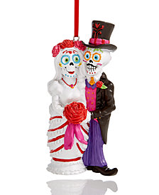 Holiday Lane Skeleton Wedding Couple Ornament, Created for Macy's
