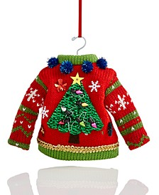 Make Merry Ugly Sweater Ornament Created For Macy's