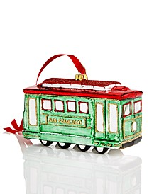 San Francisco Cable Car Ornament Created for Macy's