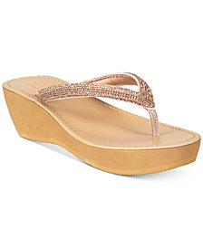 Kenneth Cole Reaction Women's Fine Sun Wedge Sandals