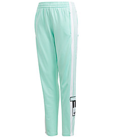 adidas Originals Big Girls Adibreak Snap Performance Pants