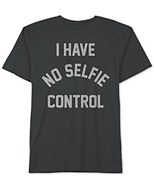 Jem Big Boys Selfie Control Graphic-Print Cotton T-Shirt
