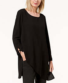 Alfani Split-Cuff Tunic, Created for Macy's