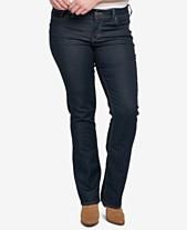 12b0029ffe3 Silver Jeans Co. Plus Size Suki Stretch Slim Boot-Cut Jeans
