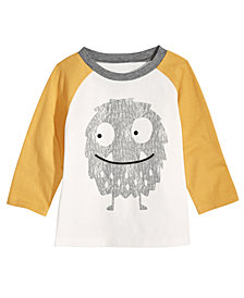 First Impressions Toddler Boys Monster-Print Cotton T-Shirt, Created for Macy's