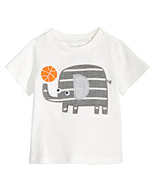 First Impressions Toddler Boys Elephant Graphic Cotton T-Shirt, Created for Macy's