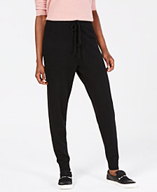 Charter Club Pure Cashmere Jogger Pants, in Regular & Petite Sizes, Created for Macy's