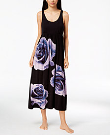 I.N.C. Rose-Graphic Nightgown, Created for Macy's