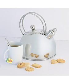 Demeyere 2.6-Qt. Stainless Steel Whistling Tea Kettle