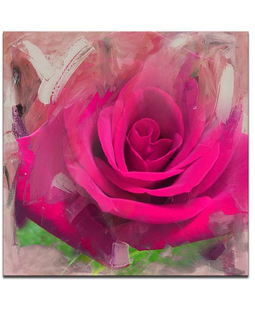 Ready2HangArt 'Painted Petals XL' Canvas Wall Decor