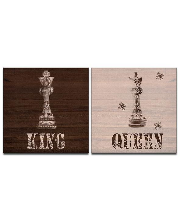 Ready2HangArt 'King & Queen' 2-Pc. Canvas Wall Decor Set