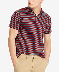 Polo Ralph Lauren Men's Classic Fit Soft Touch Striped Cotton Polo
