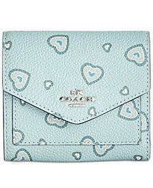 COACH Small Heart Wallet