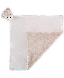 Trademark Global Happy Trails Baby Bear Stuffed Animal Security Blanket