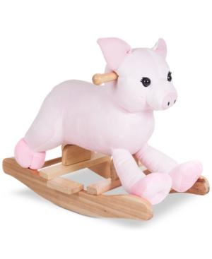 Trademark Global Happy Trails Hamlet Plush Rocking Pig