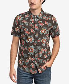 RVCA Men's McMillan Floral-Print Shirt