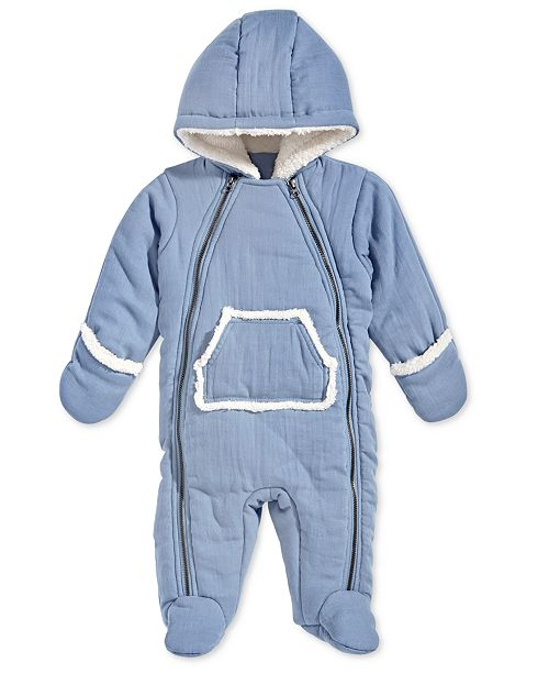 5d8bfbdab First Impressions Baby Boys Hooded Snowsuit