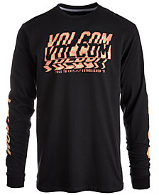 Volcom Men's Volcomosphere Long Sleeve T-Shirt, Created for Macy's