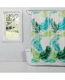 "Saturday Knight Palm 70"" x 72"" Shower Curtain"