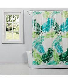 "Saturday Knight Palm 70"" x 72"" Shower Curtain"