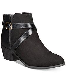 Karen Scott Falonn Ankle Booties, Created for Macy's