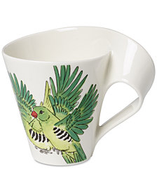 Villeroy & Boch New Wave Caffé Birds of the World Mug