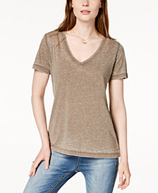 Lucky Brand V-Neck T-Shirt